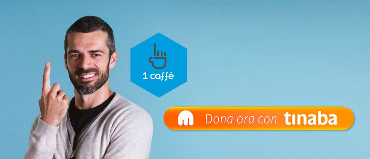 donazioni 1 caffè onlus luca argentero